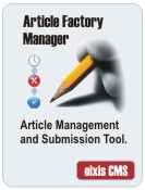 article Factory Manager for Elxis