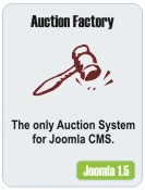 Auction Factory Joomla 1.5 Demo