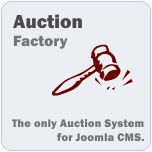 Joomla online Bidding Extension - Auction Factory