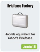 Briefcase Factory for Joomla 1.5 Demo
