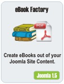 Joomla Ebook Extension