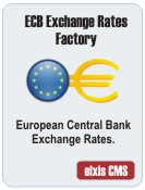 Exchange Rates Factory ECB for Elxis