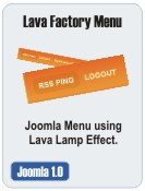 Lava Factory Menu